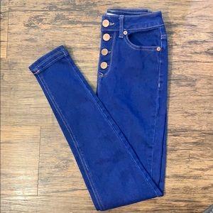 No Boundaries(NoBo) high waisted skinny jeans